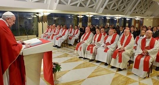 14.02.  Rzymskie spotkania z kardynałami