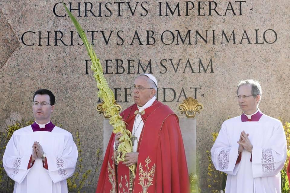 Homilia Papieża Franciszka wygłoszona podczas Uroczystości Niedzieli Palmowej