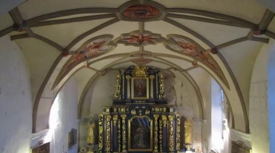 Ksiądz Jarek na modlitwie w Sanktuarium Matki Bożej w Krasnobrodzie