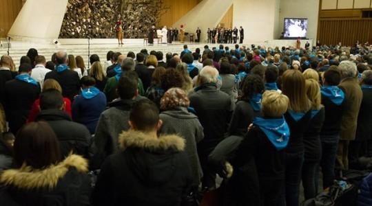 Papież do włoskich spółdzielców: praca, rodzina, uczciwość