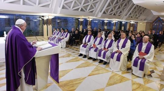 Papieska Msza we wtorek: o przebaczeniu