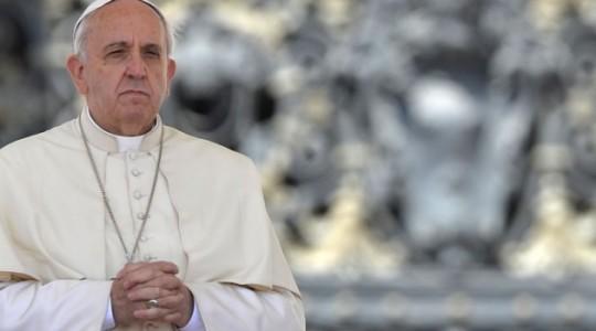 Papież na poniedziałkowej Mszy: możemy tylko płakać ze szczęścia