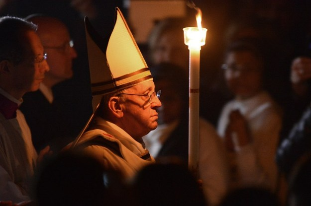 Homilia Ojca Świętego Franciszka wygłoszona w Wigilię Paschalną