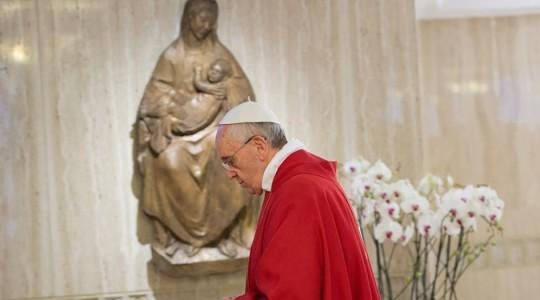 Papieska Msza: o Kościele męczenników