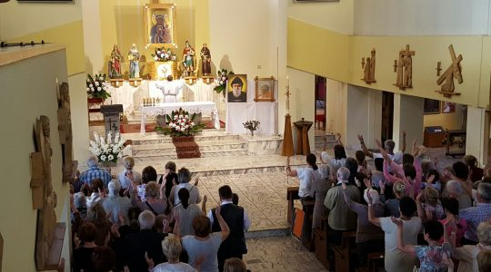 Modlitewne spotkanie w Wodzisławiu Śląskim