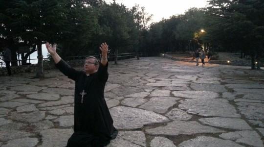 Ks. Jarek kończy w dniu jutrzejszym czas osobistego skupienia i modlitwy.