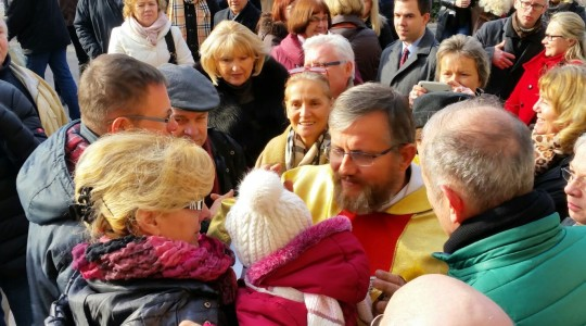 Msza św. w Bazylice św. Jana w Berlinie o godzinie 12.00