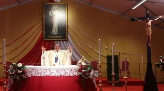Modlitwy i konferencja ks. Jarosława w Sanktuarium Miłosierdzia Bożego w Gherghenzano