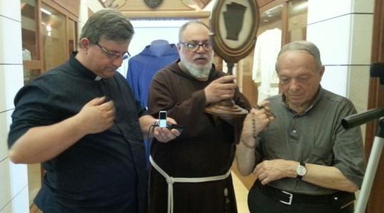 Rozmowa z o. Marciano, przełożonym klasztoru w Pietrelcinie