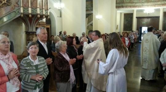 16.06.2015  Kościół w  Świebodzinie był pełen
