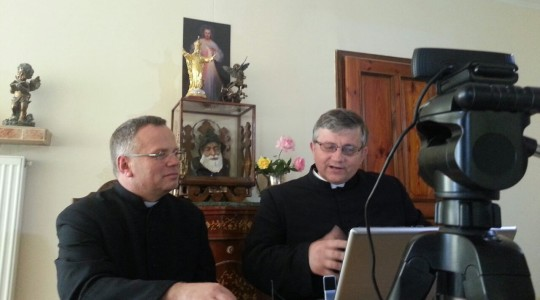 Srebrna - modlitwa i rozmowa przed kamerą z ks. dr Romanem Piwowarczykiem