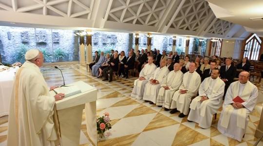 Papieska Msza poranna: uważać na czas łaski
