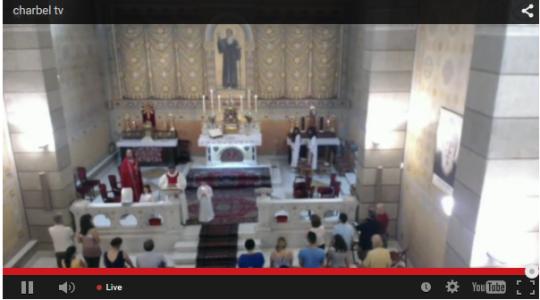 Pierwsza transmisja Mszy św. w rycie maronickim z Parafii oo. Maronitów w Rzymie