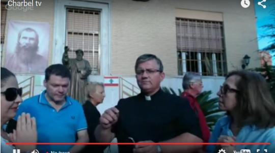 Sprzed Postulacji Generalnej Maronitów w Rzymie, 22.09.2015