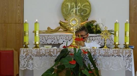 Transmisja Mszy św. z Kaplicy Sióstr Miłosierdzia w Częstochowie w niedzielę 13 września,  w przeddzień Święta Podwyższenia Krzyża Świętego. Zakończenie rekolekcji.