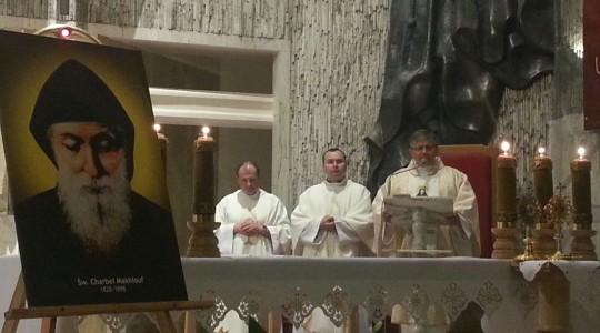Nabożeństwo ze św. Charbelem w Bydgoszczy
