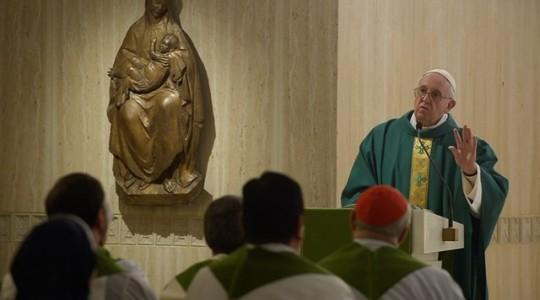 Papież na Mszy: Bóg nie może nie kochać, my możemy Go odrzucić