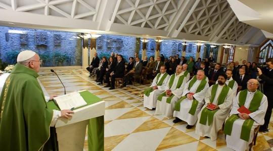 Papież na Mszy: Nie wolno nikogo wykluczać ze wspólnoty