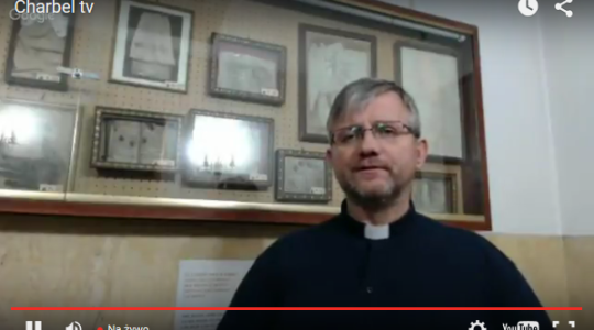 Ks. Jarek w Muzeum Dusz Czyśćcowych w Rzymie, 2.11.2015