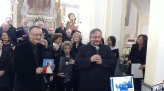Koncert imieninowy dla św. Jana Pawła