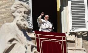 Uroczystość Wszystkich Świętych - Anioł Pański z Ojcem Świętym Franciszkiem