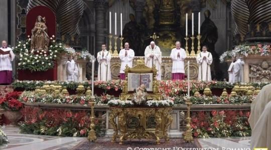 Orędzie Bożonarodzeniowe Papieża Franciszka