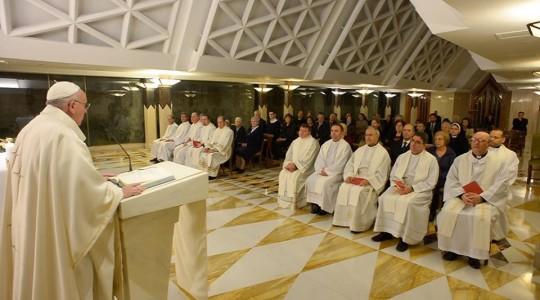 Papież na Eucharystii: nie każda miłość pochodzi od Boga