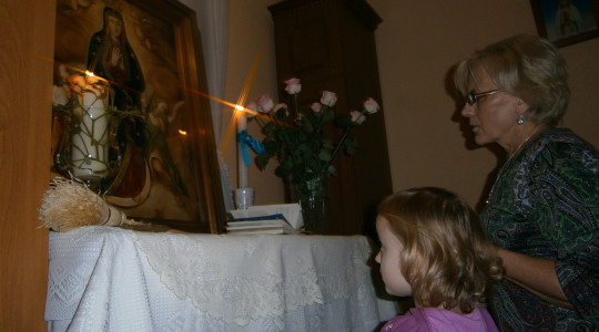 Maryja ciągle w drodze do swoich dzieci