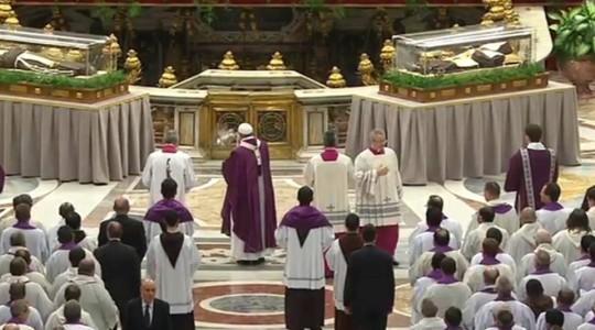 Papież w Popielec: biblijne wskazania na jubileusz miłosierdzia