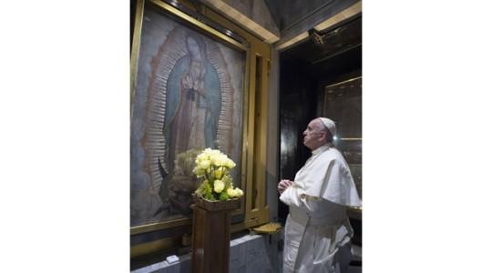 Papież w Guadalupe: Maryja daje pewność, że łzy cierpiących nie są jałowe