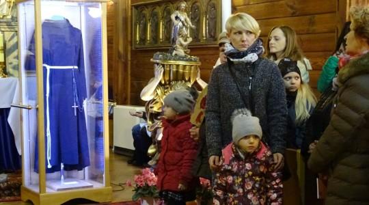 Relikwie św. O.Pio w środę popielcową w Sanktuarium Matki Bożej