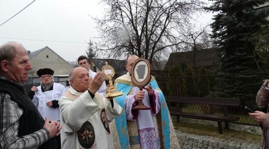 Relikwie św. O. Pio w parafii św. Jana Berchmansa w Gorzkowie Nowym 40 km od Częstochowy.