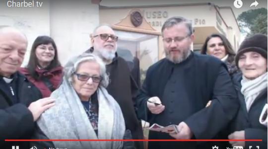 Rozpoczęcie peregrynacji relikwii św. O.Pio 3.02.2016