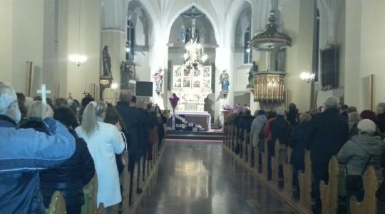 Las krzyży u św. Michała