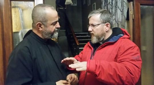 Padre Jarek już z Rzymu