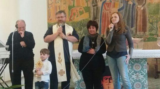 Radość wspólnoty w Pompejach