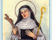 Patron dnia 18.06 - Święta Elżbieta z Schönau, dziewica, zakonnica  i mistyczka