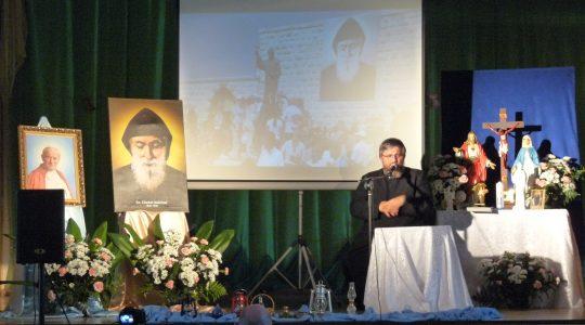 Konferencja księdza Jarosława do osób z domów modlitwy św. Charbela i czcicieli św. Pustelnika z Libanu, 27.05.2016