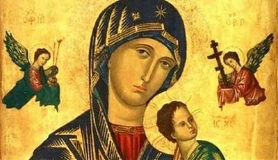 Patron dnia 27.06 - Najświętsza Maryja Panna Nieustającej Pomocy