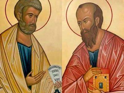 Patroni dnia 29.06 - Święci Apostołowie Piotr i Paweł