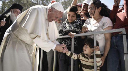 Papież poparł kampanię Caritas na rzecz pokoju w Syrii