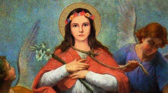Święta Filomena, męczennica