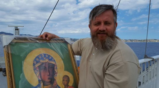 Podróż misyjna księdza Jaroslawa na wyspę Lipari