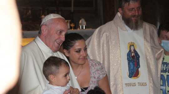 Wspomnienia ze spotkania z Ojcem Świętym Franciszkiem