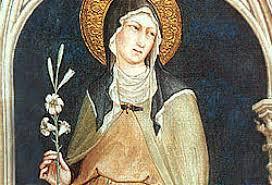 Święta Klara,dziewica
