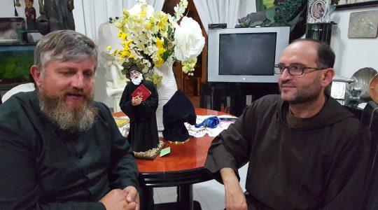 Św. Charbel podziękował za gościnę w klasztorze