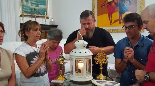 Modlitwa w Mediolanie