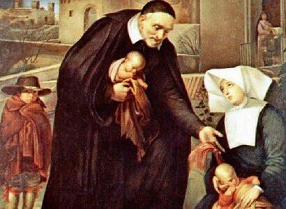 Święty Wincenty a Paulo, prezbiter