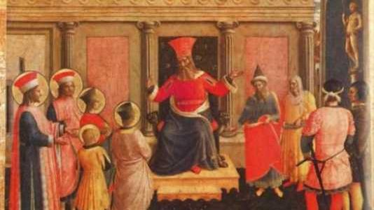 Święci męczennicy Kosma i Damian