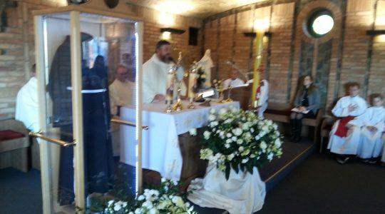 Św. o. Pio  – w swojej parafii